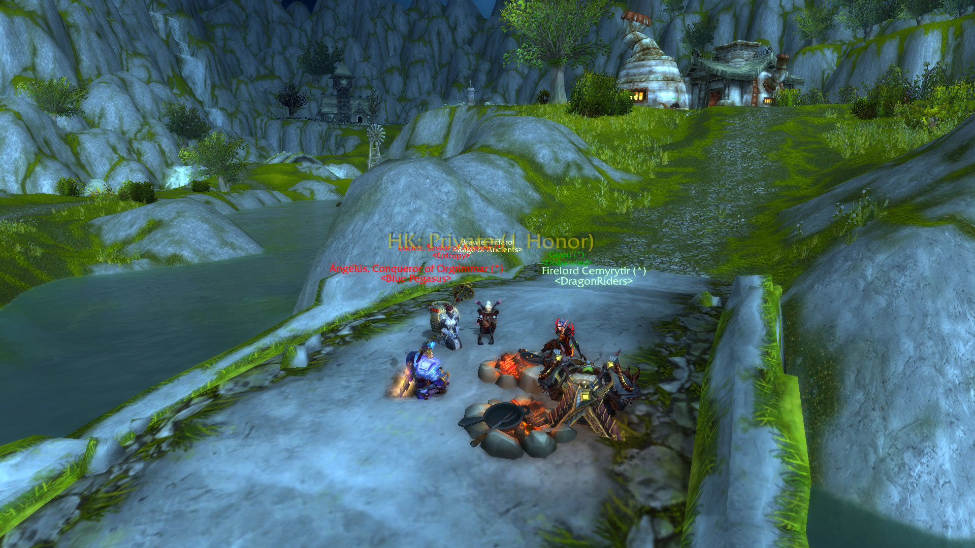 stopped raiding on my Rogue after EN and started doing pvp and found some friends / Submitted by 7 Fps Btw ;^)