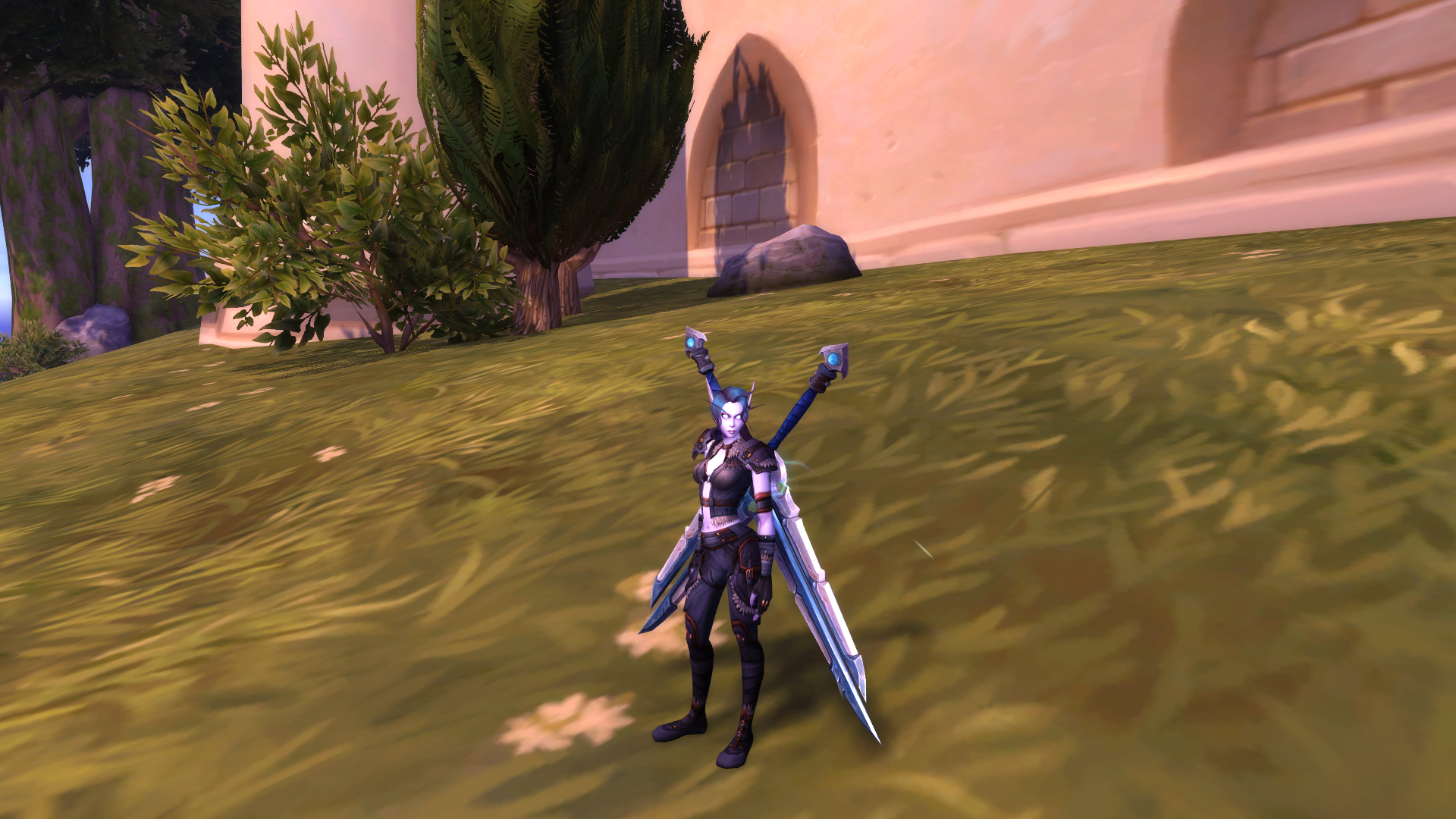 Getting the hidden appearance on my Outlaw Rogue. oversized, so i'm not using them, but they are gorgeous / Submitted by Aelandria