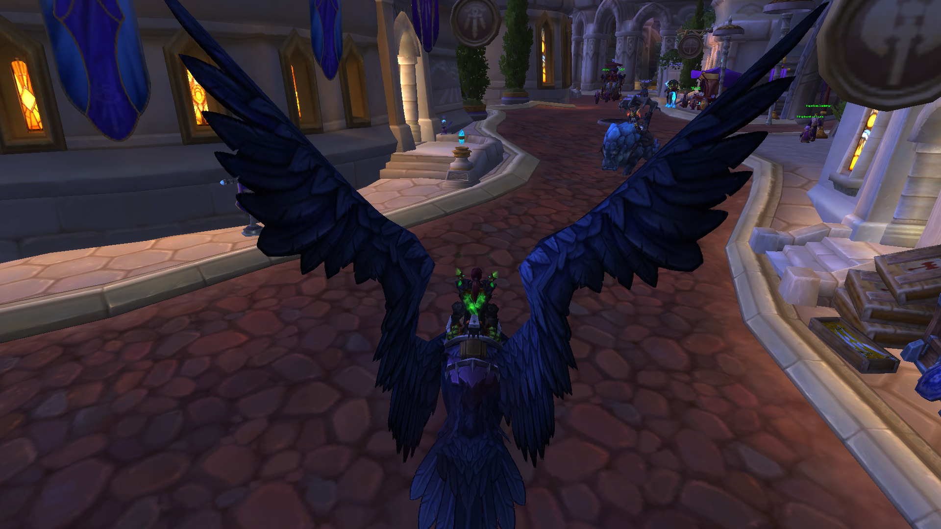 Both Getting The Class Mount And Completing The Mage Tower