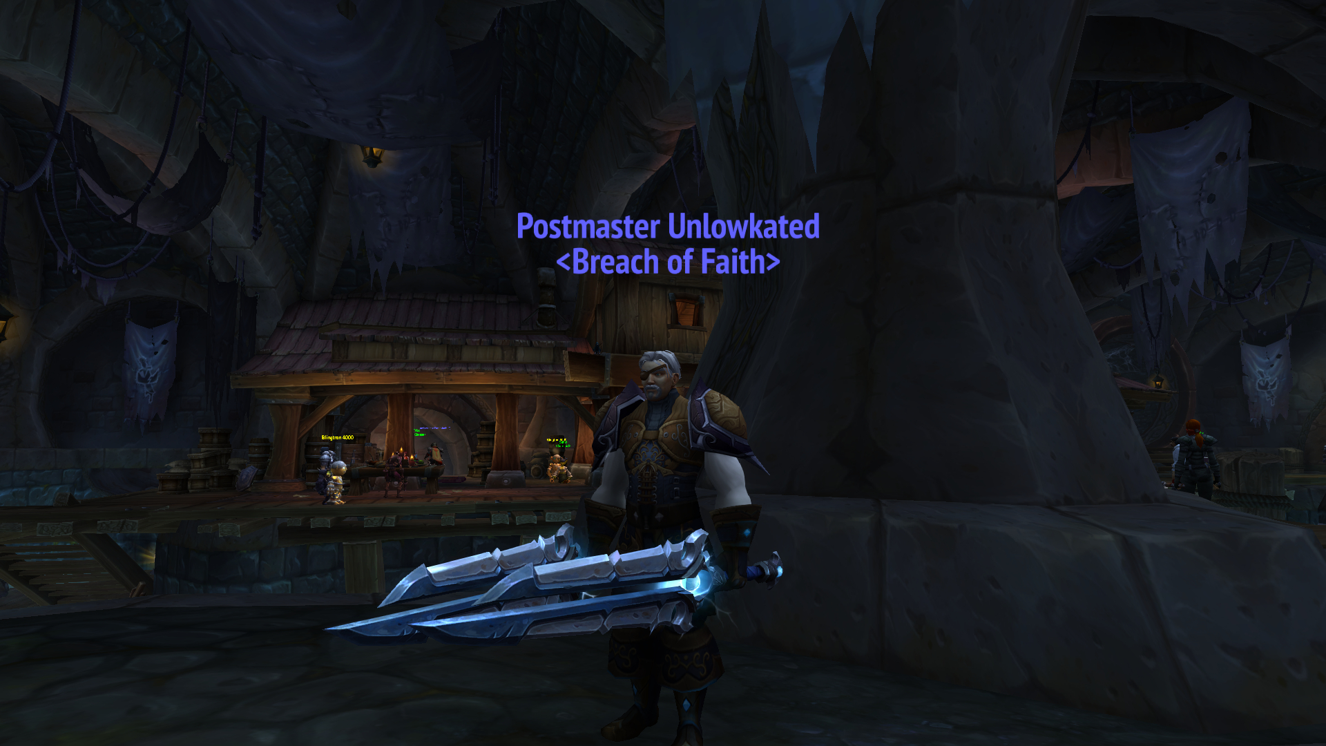 The journey of my rogue was to get the Thunderfury hidden artifact appearance.  Did someone say THUNDERFURY?!? / Submitted by Lowk