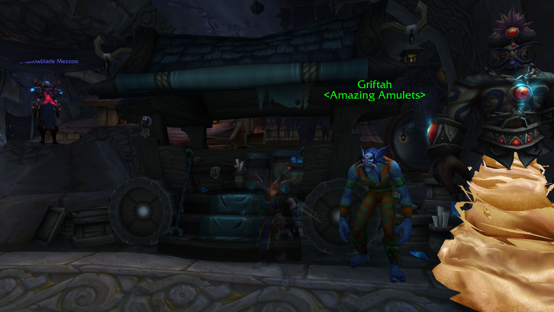 With 3 rogue alts, I've never made so much gold off of one dude.  Thanks Griftah / Submitted by Arapaw