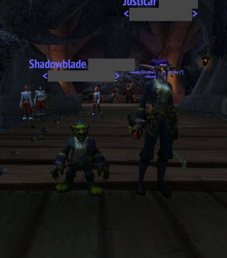that time i found my doppelganger in the order hall (i'm the goblin) / Submitted by !H 上 P Z!