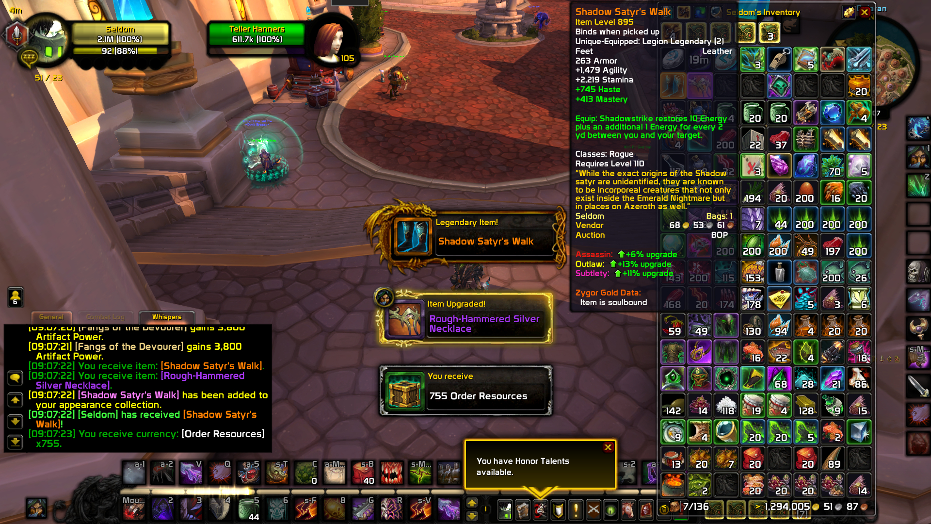 The moment I could abandon outlaw :shadowstrike: / Submitted by Seldom