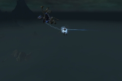 this pretty much sums up my legion pvp exp, getting hauled along by my dk brother / Submitted by vern