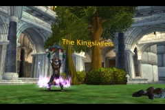 This is me being a gardener in Stormwind, good times. / Submitted by r0cky