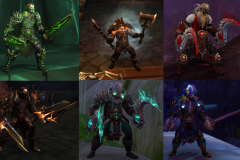 Spending way too much time collecting, creating, and showing off sets to all my friends in the best #transmog channel of all the class discords. (You guys are the best) / Submitted by Zeruul #outlawrising