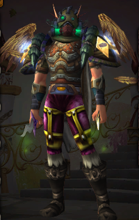 Playing transmog roulette with all the new pieces / Submitted by Codes