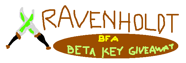 Expertly Crafted Banner for Our BfA Beta Key Doodle Giveaway (by Rfeann)